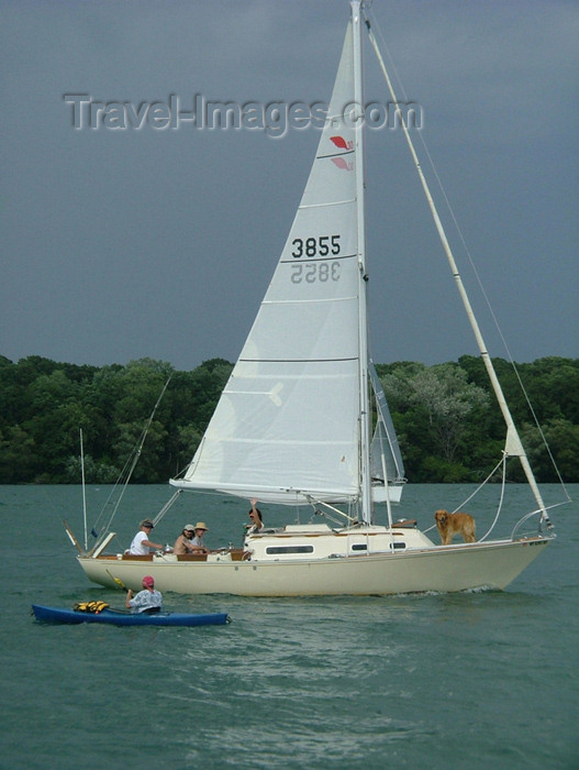 canada164: Niagara on the Lake, Ontario, Canada / Kanada: sailing - leisure time - photo by R.Grove - (c) Travel-Images.com - Stock Photography agency - Image Bank