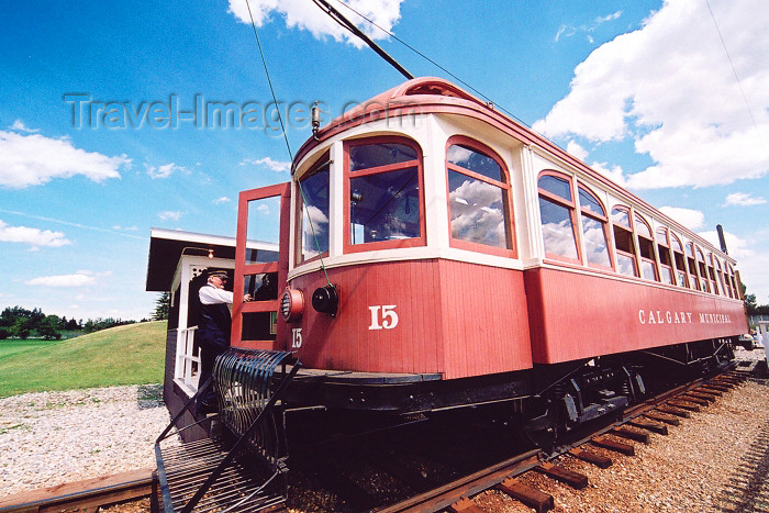 canada180: Canada / Kanada - Calgary, Alberta: Heritage park - the tram - photo by M.Torres - (c) Travel-Images.com - Stock Photography agency - Image Bank