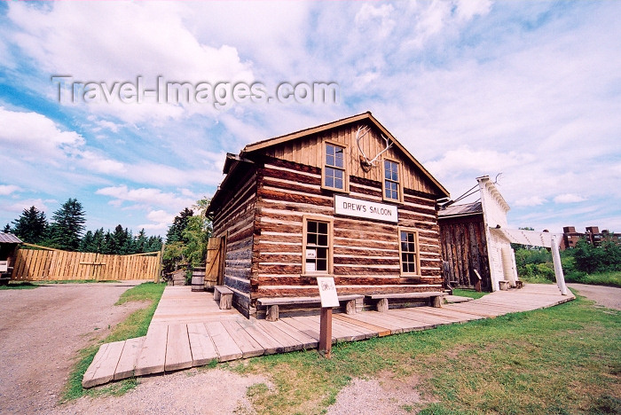 canada195: Canada / Kanada - Calgary, Alberta: Heritage Park - Drew's Saloon - photo by M.Torres - (c) Travel-Images.com - Stock Photography agency - Image Bank