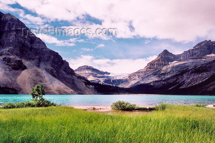 canada205: Canada / Kanada - Icefields Park (Alberta): Waterfawl lake - photo by M.Torres - (c) Travel-Images.com - Stock Photography agency - Image Bank