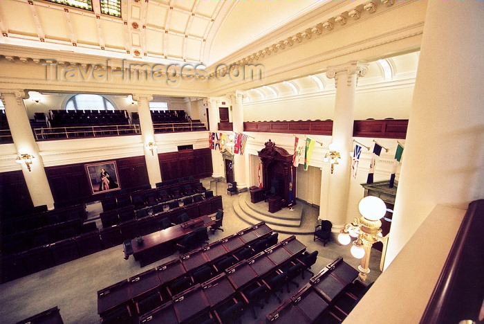 canada244: Canada / Kanada - Edmonton, Alberta: parliament - Legislative Assembly of Alberta - Assembly room - photo by M.Torres - (c) Travel-Images.com - Stock Photography agency - Image Bank