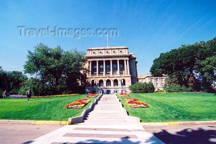 canada245: Canada / Kanada - Edmonton, Alberta: Legislative Assembly of Alberta - Alberta GOvernment House - photo by M.Torres - (c) Travel-Images.com - Stock Photography agency - Image Bank
