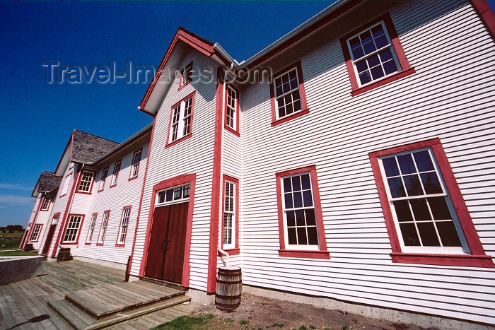 canada249: Canada / Kanada - Calgary, Alberta: Fort Calgary Historic Park - photo by M.Torres - (c) Travel-Images.com - Stock Photography agency - Image Bank