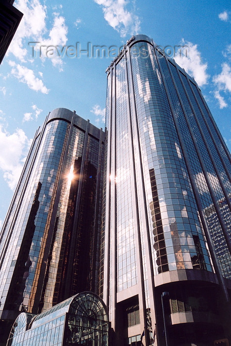 canada257: Canada / Kanada - Calgary (Alberta): twin towers - Husky Oil - skyscrapers (photo by M.Torres) - (c) Travel-Images.com - Stock Photography agency - Image Bank