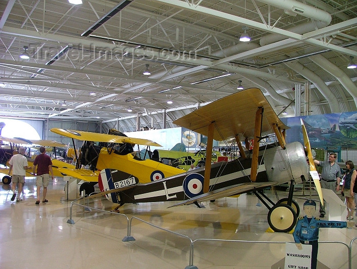 canada268: Canada / Kanada - Hamilton, Ontario: Sopwith Pup fighter - WWI biplanes - Museum for war planes - aircraft - photo by R.Grove - (c) Travel-Images.com - Stock Photography agency - Image Bank