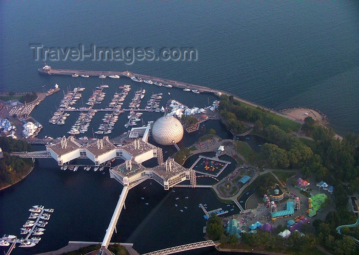 canada284: Toronto, Ontario, Canada / Kanada: Ontario Place - over the marina - photo by R.Grove - (c) Travel-Images.com - Stock Photography agency - Image Bank