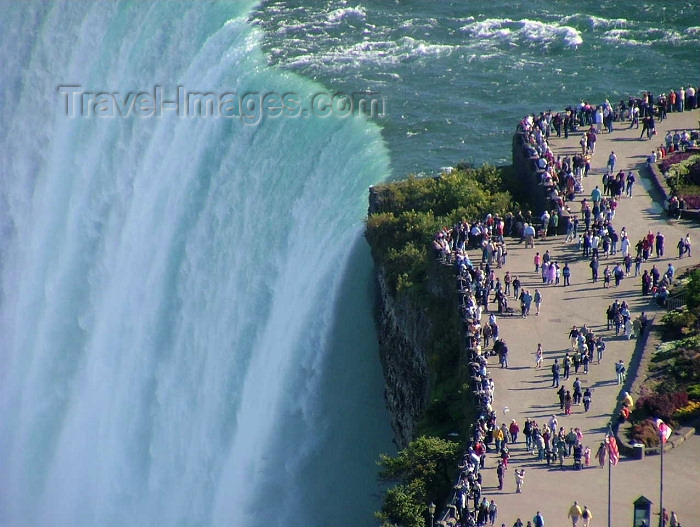 canada301: Niagara Falls, Ontario, Canada / Kanada: Horseshoe Falls and Table Rock from Skylon tower - photo by R.Grove - (c) Travel-Images.com - Stock Photography agency - Image Bank