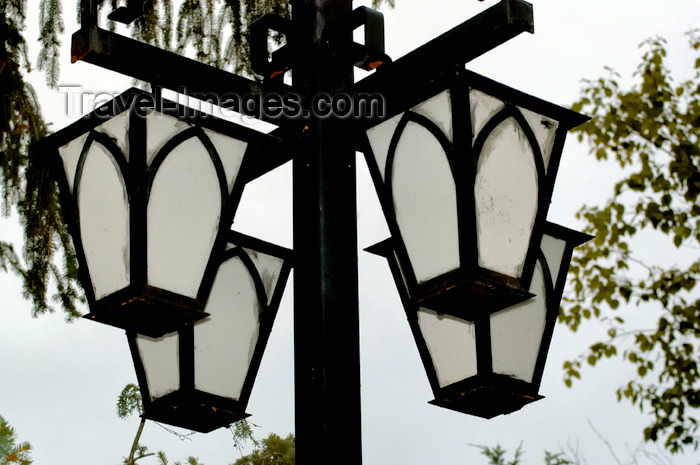 canada307: Canada - Rigaud (Quebec - county of Vaudreuil-Soulanges): lamp post - photo by C. McEachern - (c) Travel-Images.com - Stock Photography agency - Image Bank