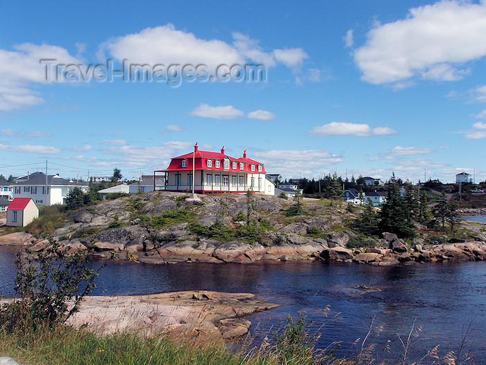 canada309: Johan Beetz (Quebec): residential area - photo by B.Cloutier - (c) Travel-Images.com - Stock Photography agency - Image Bank