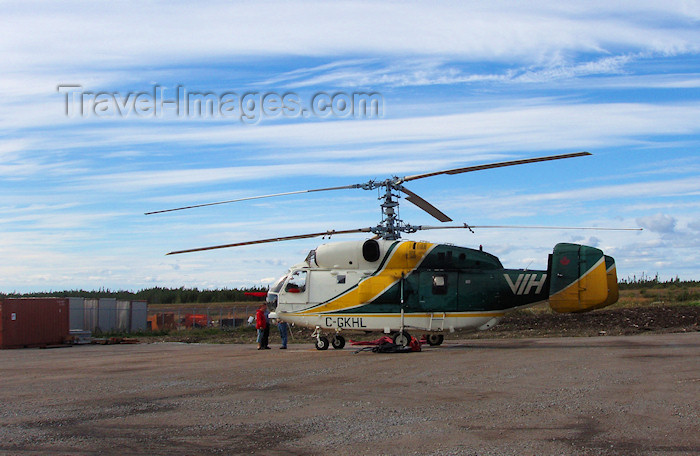 canada311: Sept-Îles (Quebec): Russian Kamov Ka-25 'Hormone' helicopter - photo by B.Cloutier - (c) Travel-Images.com - Stock Photography agency - Image Bank