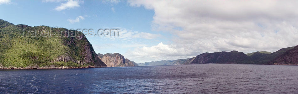 canada318: Saguenay river (Quebec): Cap Éternité / Cape Eternity - photo by B.Cloutier - (c) Travel-Images.com - Stock Photography agency - Image Bank