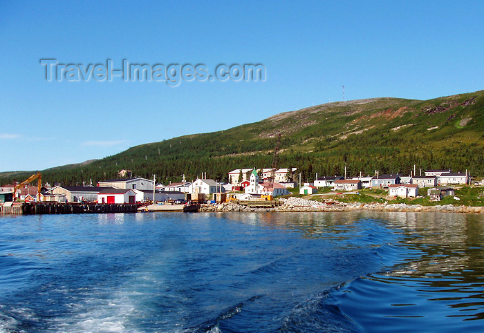 canada323: Canada / Kanada - Nain (Labrador): waterfront - sailing away - photo by B.Cloutier - (c) Travel-Images.com - Stock Photography agency - Image Bank