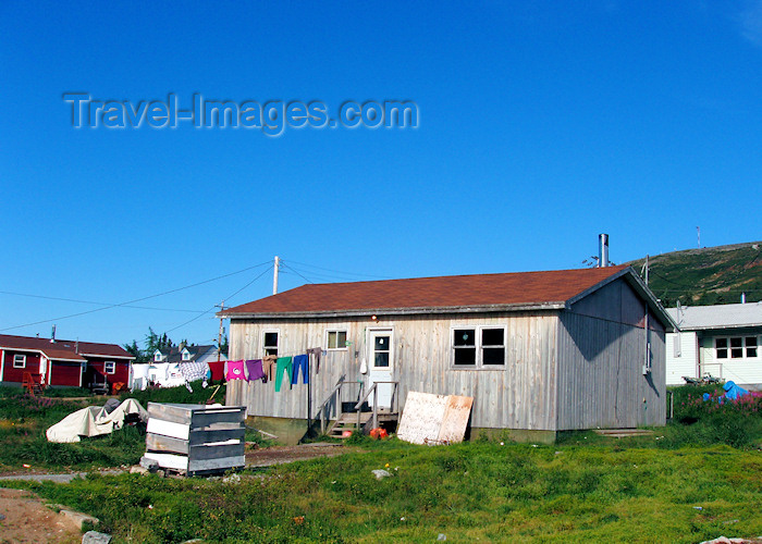canada327: Canada / Kanada - Nain (Labrador): housing - photo by B.Cloutier - (c) Travel-Images.com - Stock Photography agency - Image Bank