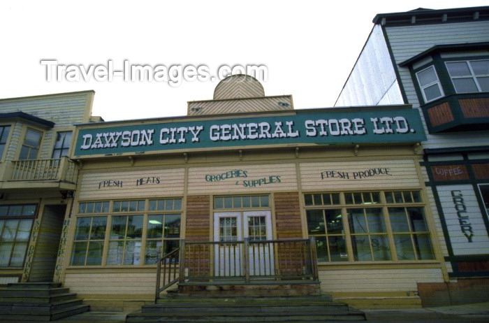 canada33: Canada / Kanada - Dawson city, Yukon: general store - photo by F.Rigaud - (c) Travel-Images.com - Stock Photography agency - Image Bank
