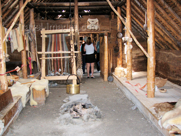 canada331: Canada / Kanada - Anse-aux-Meadows - Great Northern Peninsula, Newfoundland: Viking dwelling - photo by B.Cloutier - (c) Travel-Images.com - Stock Photography agency - Image Bank