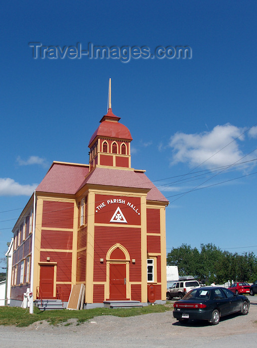 canada337: Canada / Kanada - Trinity, Newfoundland: parish hall - photo by B.Cloutier - (c) Travel-Images.com - Stock Photography agency - Image Bank