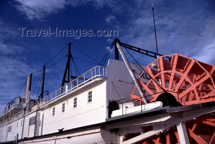 canada34: Canada / Kanada - Whitehorse, Yukon: steam boat - Yukon River - photo by F.Rigaud - (c) Travel-Images.com - Stock Photography agency - Image Bank
