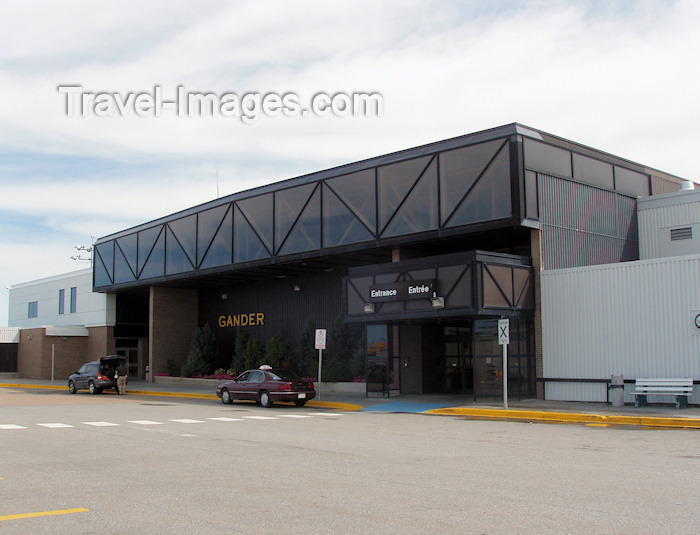 canada341: Canada / Kanada - Gander / YQX - Burin Peninsula, Newfoundland: airport terminal - photo by B.Cloutier - (c) Travel-Images.com - Stock Photography agency - Image Bank