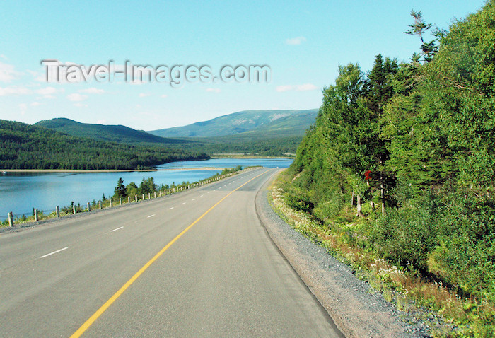 canada345: Canada / Kanada - Great Northern Peninsula, Newfoundland: on the road - photo by B.Cloutier - (c) Travel-Images.com - Stock Photography agency - Image Bank