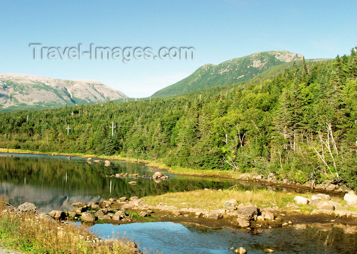 canada346: Canada / Kanada - Great Northern Peninsula, Newfoundland: river - photo by B.Cloutier - (c) Travel-Images.com - Stock Photography agency - Image Bank