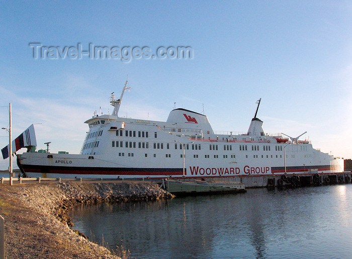 canada347: Canada / Kanada - St Barbe, Newfoundland: ferry terminal - the Apollo - Woodward Group - photo by B.Cloutier - (c) Travel-Images.com - Stock Photography agency - Image Bank