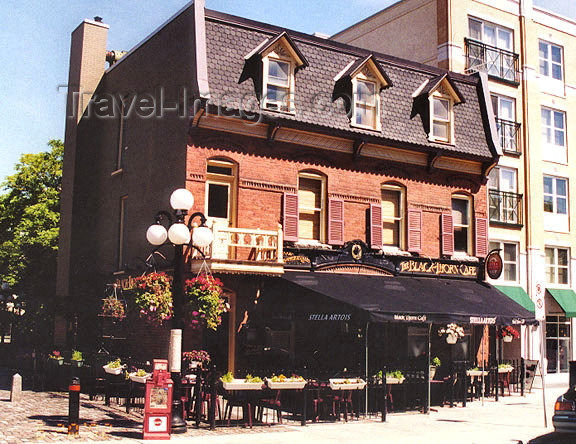 canada372: Canada / Kanada - Ottawa (National Capital Region): a cafe just off of Parliament Hill - Black Thorn Cafe - photo by G.Frysinger - (c) Travel-Images.com - Stock Photography agency - Image Bank