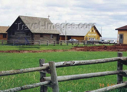 canada376: Canada / Kanada - Le Village Pionnier Acadien (Prince Edward Island): the restaurant - photo by G.Frysinger - (c) Travel-Images.com - Stock Photography agency - Image Bank