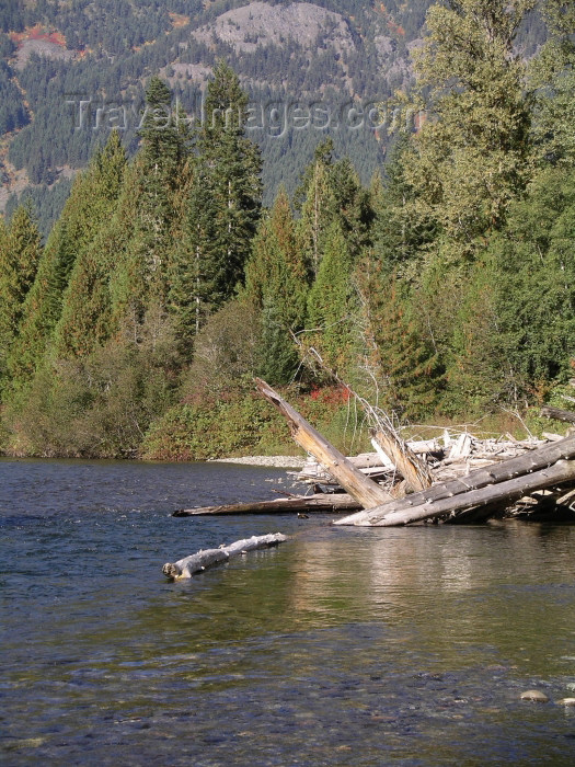 canada388: Canada / Kanada - Skagit river near Hope (BC) - photo by Rick Wallace - (c) Travel-Images.com - Stock Photography agency - Image Bank