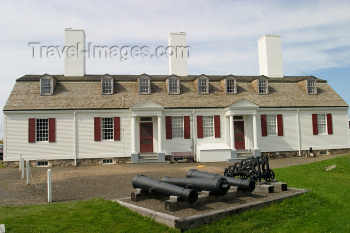 canada404: Scenic views of the museum at the  historic fort at Annapolis Royal, Nova Scotia, Canada - photo by D.Smith - (c) Travel-Images.com - Stock Photography agency - Image Bank
