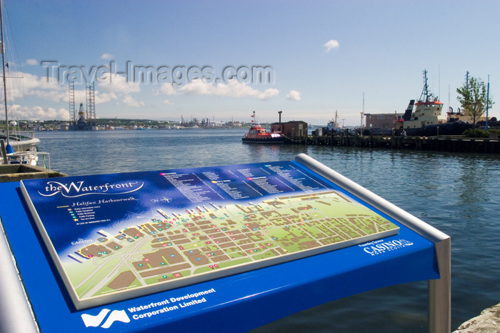 canada431: Scenic views of the historic waterfroint pier in downtowm Halifax, Noca Scotia, Canada - photo by D.Smith - (c) Travel-Images.com - Stock Photography agency - Image Bank