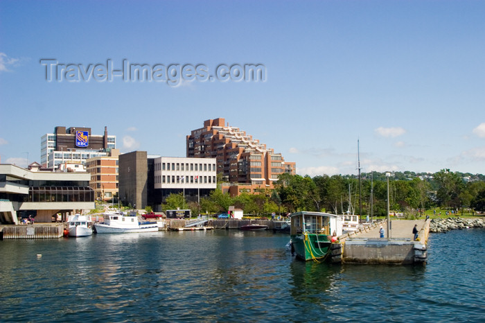canada436: Scenic views of boats near the historic waterfront pier in downtown Halifax, Nova Scotia, Canada - photo by D.Smith - (c) Travel-Images.com - Stock Photography agency - Image Bank
