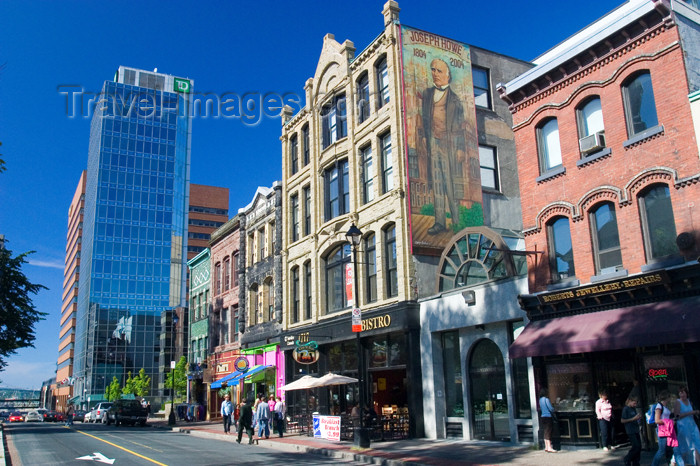 canada441: Scenic views of buildings in downtown Halifax, Noca Scotia, Canada - photo by D.Smith - (c) Travel-Images.com - Stock Photography agency - Image Bank