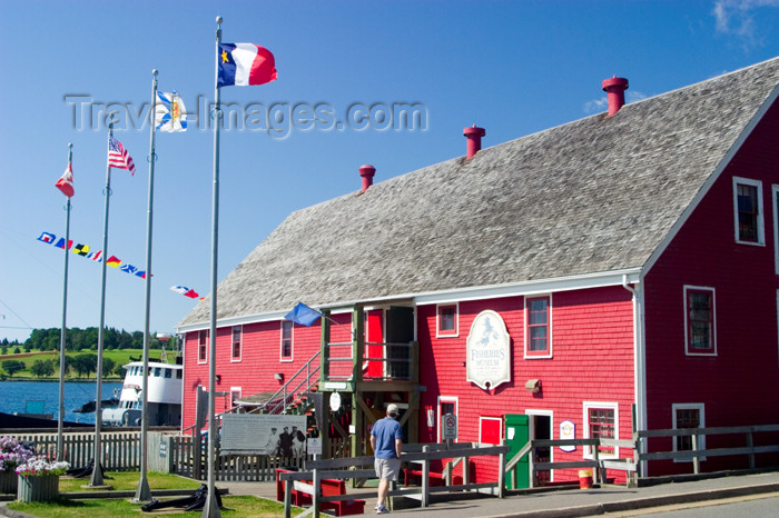 canada448: Scenic views of the maritime museum in the historic fishing village of Lunenburg, Nova Scotia, Canada - photo by D.Smith - (c) Travel-Images.com - Stock Photography agency - Image Bank