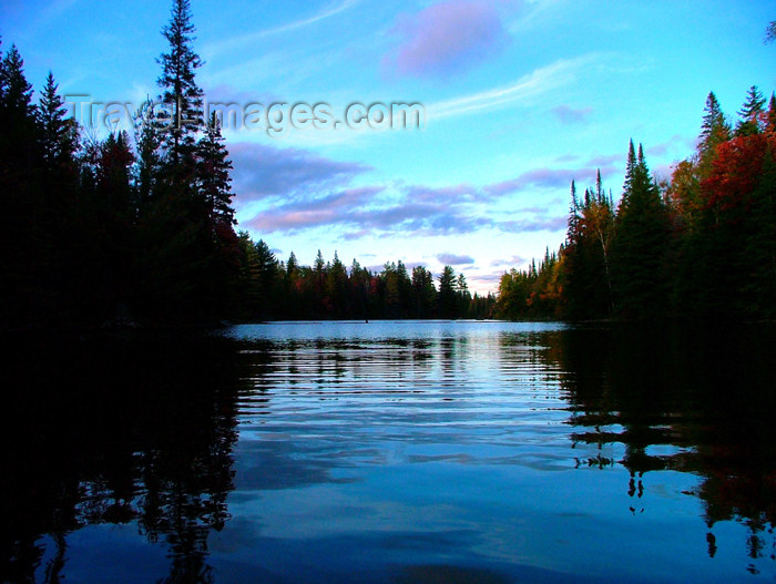 canada463: Canada - Ontario - Algonquin Provincial Park: lake view - photo by R.Grove - (c) Travel-Images.com - Stock Photography agency - Image Bank