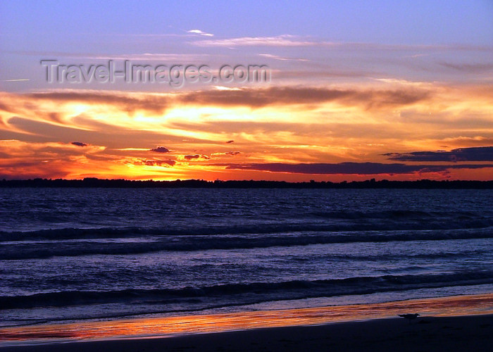 canada468: Canada - Ontario - Lake Erie: sunset - photo by R.Grove - (c) Travel-Images.com - Stock Photography agency - Image Bank