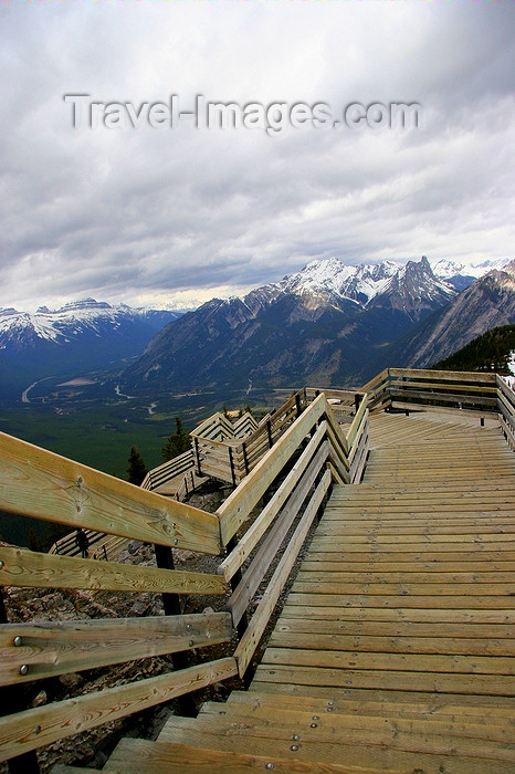 canada47: Banff , Alberta, Canada: Sulphur Mountain - photo by J.Cave - (c) Travel-Images.com - Stock Photography agency - Image Bank