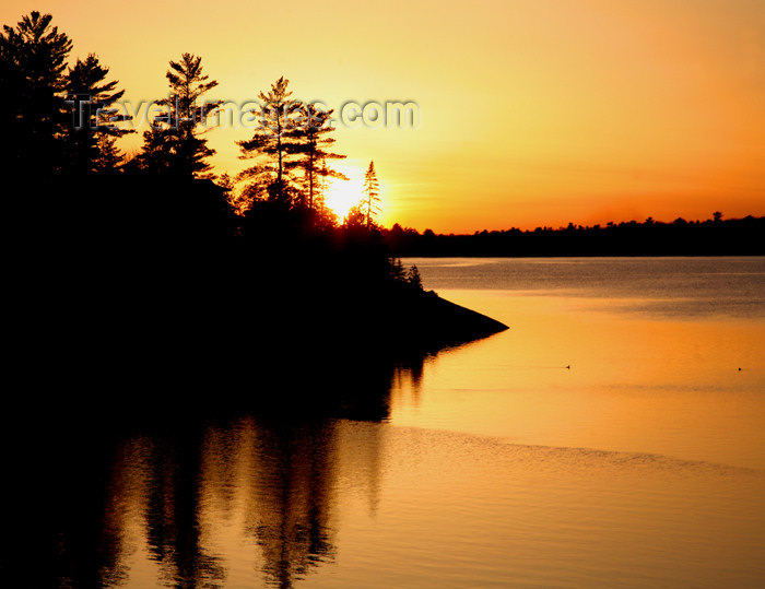 canada489: Canada - Ontario - Lake Huron: St. Joseph Island - sunset - photo by R.Grove - (c) Travel-Images.com - Stock Photography agency - Image Bank
