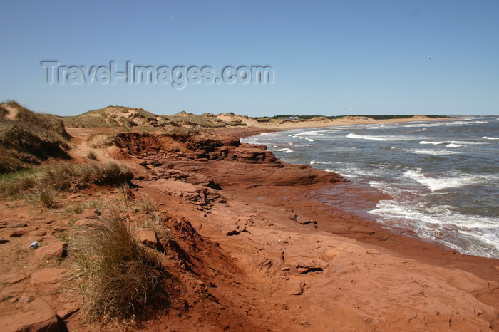 canada537: Canada - Cavendish (PEI): Cavendish Beach, Prince Edward Island National Park - Gulf of St. Lawrence - photo by J.Cave - (c) Travel-Images.com - Stock Photography agency - Image Bank
