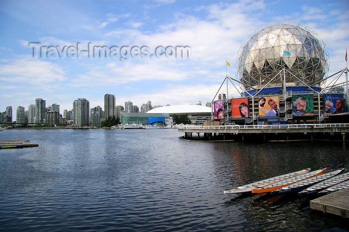 canada555: Vancouver, BC, Canada: Science Museum and skyline - photo by J.Cave - (c) Travel-Images.com - Stock Photography agency - Image Bank