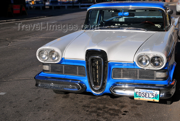 canada57: Winnipeg, Manitoba, Canada: Edsel Citation 58 produced by the Ford Motor Company - horsecollar grille - pick-up version - photo by M.Torres - (c) Travel-Images.com - Stock Photography agency - Image Bank
