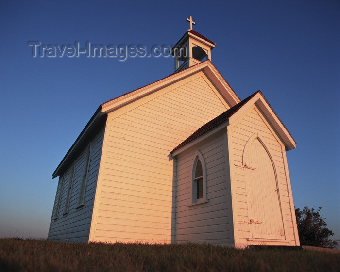 canada59: Canada / Kanada - Saskatchewan: Charming old Church - photo by M.Duffy - (c) Travel-Images.com - Stock Photography agency - Image Bank