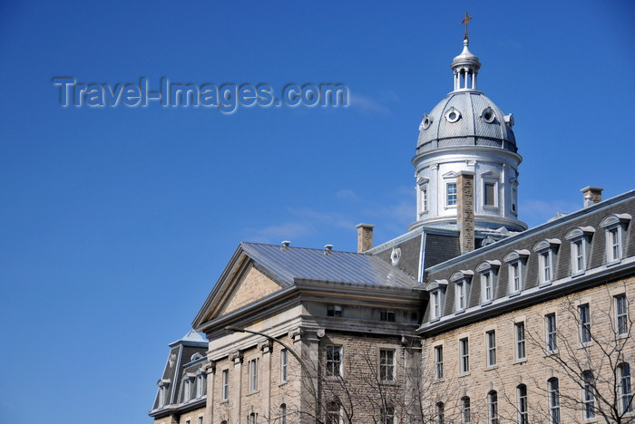canada627: Montreal, Quebec, Canada: Neo-classical building of the Institut des Sourdes-Muettes, now housing the Institut Raymond-Dewar - Rue St-Denis - photo by M.Torres - (c) Travel-Images.com - Stock Photography agency - Image Bank