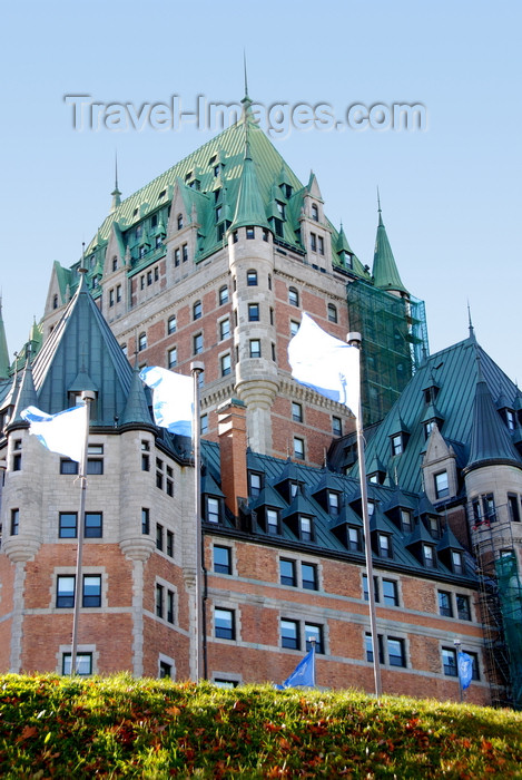 canada635: Quebec City, Quebec: Château Frontenac grand hotel - château style by architect Bruce Price, built for the Canadian Pacific Railway - photo by B.Cain - (c) Travel-Images.com - Stock Photography agency - Image Bank