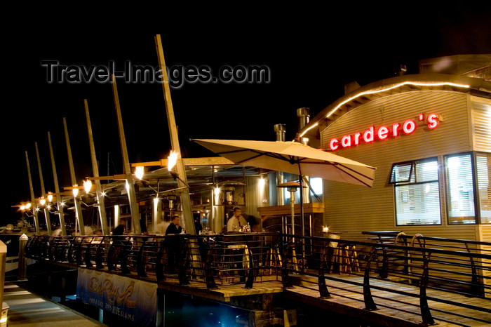 canada662: Vancouver, BC, Canada: waterfront restaurant in Coal Harbour - photo by D.Smith - (c) Travel-Images.com - Stock Photography agency - Image Bank