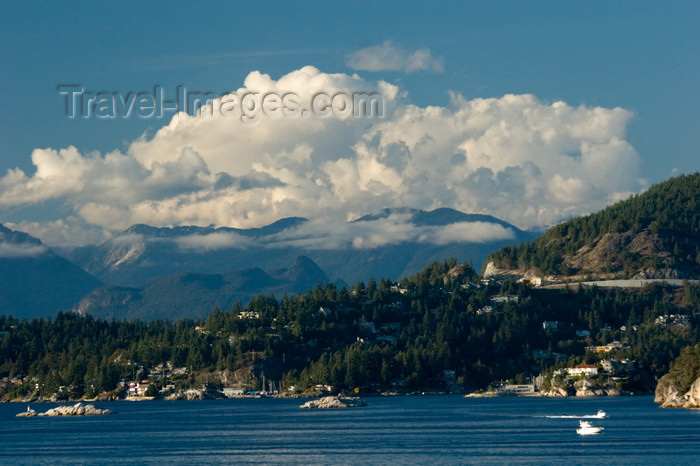 canada665: outside Vancouver, BC, Canada: scenic view of Howe Sound - photo by D.Smith - (c) Travel-Images.com - Stock Photography agency - Image Bank