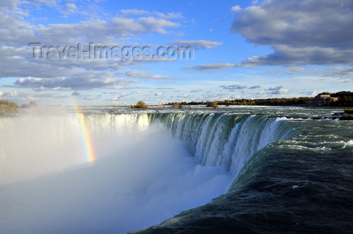 canada689: Niagara Falls, Ontario, Canada: rainbow at Horseshoe Falls - photo by M.Torres - (c) Travel-Images.com - Stock Photography agency - Image Bank