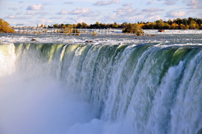 canada690: Niagara Falls, Ontario, Canada: Horseshoe Falls and the rapids - photo by M.Torres - (c) Travel-Images.com - Stock Photography agency - Image Bank