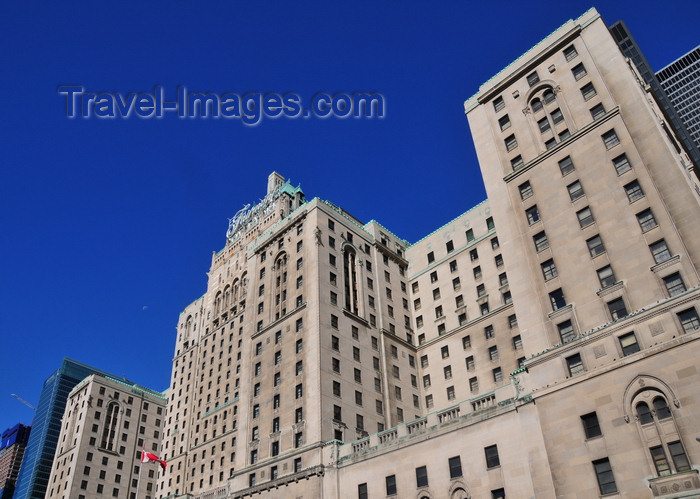 canada728: Toronto, Ontario, Canada: Fairmont Royal York hotel - Château-style building, with a Soviet touch - photo by M.Torres - (c) Travel-Images.com - Stock Photography agency - Image Bank