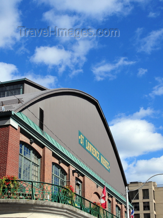 canada734: Toronto, Ontario, Canada: St. Lawrence Market - designed by Henry Bowyer Lane - corner of Market st. and the Esplanade - photo by M.Torres - (c) Travel-Images.com - Stock Photography agency - Image Bank