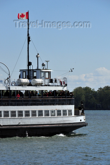 canada738: Toronto, Ontario, Canada: ferry linking the waterfront to the Toronto Islands - operated by the Parks, Forestry and Recreation Division of the City of Toronto - photo by M.Torres - (c) Travel-Images.com - Stock Photography agency - Image Bank